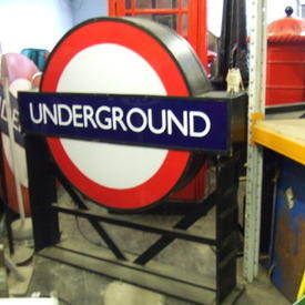 Large Underground Sign