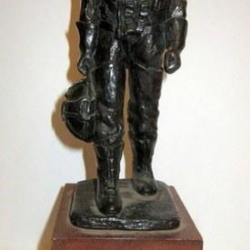 Small Wooden Man Figurine 31cm high