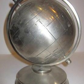 Metal Globe 22cm High