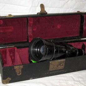 Kinoptik Paris Lens In A Case 50cmx14cmx14cm