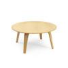 Circular Beech Ply 'c.E' Coffee Table