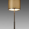 Dark Gold Honore Table Lamp With Woven Metal Shade