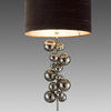 Chrome 'ayla' Ball Tower Table Lamp