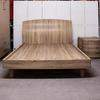 "Swan Light Oak Grain Amy 4'6"" Double Bed Surround"