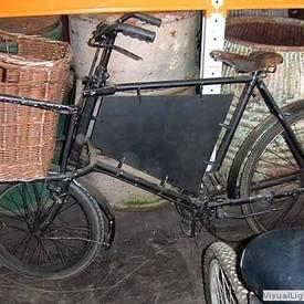 Delivery Bike And Basket