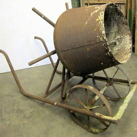 Concrete Mixer With Stand 102cm High