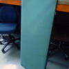 Pale Green/Grey 4'x19''  Desk Screen