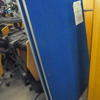 Pwf 6' X 3' Blue Fabric Office Screen