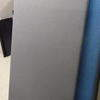 Pwf 180cm X 100cm  Grey Fabric Office Screen