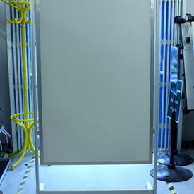 220Cmx102Cm Aluminium & Perspex ADvertising/Dividing Screen