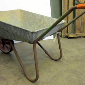 Metal Wheelbarrow 67cm High 120cm Long 58cm Wide