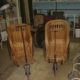 Wicker Bath Chair