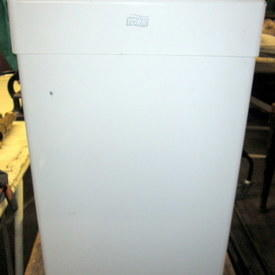 Medical Waste Bin 71cm High 25cm Wide 34cm Long