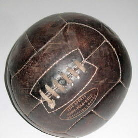 Vintage Leather Ball Epic Sports Brand 72cm Circumference