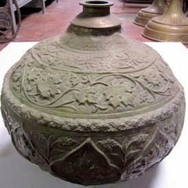 Metal Pot 48cm High