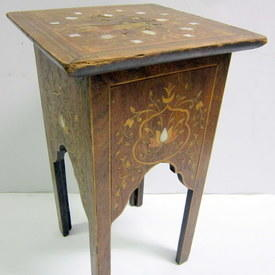 Small Square Wooden Table 29cmx29cmx51cm High