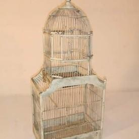 Pointes Roof Bird Cage