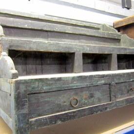 Wooden 3 Step Cabinet 107cm Long 70cm High 61cm Wide