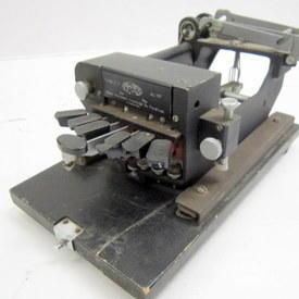 Typewriter For Blind People 29cm Long 17cm Wide 15cm High