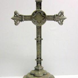 Free Standing Metal Cross 90cm High