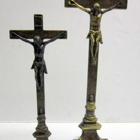 Free Standing Metal Crosses 45cm To 55cm High