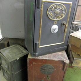 Vintage Safes 64cm To 70cm High