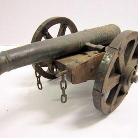 Model Of A Cannon 60cm long