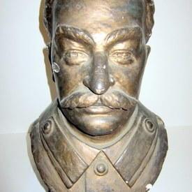 Portrait Bust Of Stalin 44cm high