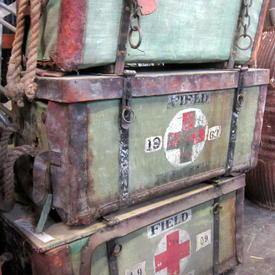 First Aid Hamper 76cm Long 38cm Wide 37cm High
