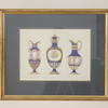 "20""X 16"" Gilt Framed Colour Print Meisen Ceramics  (Y)"