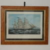 "21""X 17"" Maple Framed Prints Of Ships  (Y)"