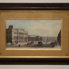 "25"" x  18"" Mahogany Framed Dublin Print"