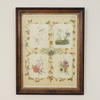 65 Cm X 85 Cm Veneered Frame Victorian Water Colour Print