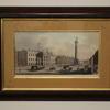 "25""X 18"" Mahogany Framed Dublin Print  (Y)"