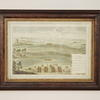 47cm X 62xm Mottled And Gilt Decor Frame Coloured Battle Print (Y)