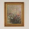 "2'3"" X 1'10"" Gilded Frame Floral Print, Morandi 1925  (Y)"