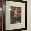 "29"" X 24"" Burr Walnut Frame Colour Print 'carloni's Maidens'"
