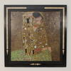 "31"" X 32"" Black Framed Klimt Print 'the Kiss'  (Y)"