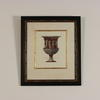 "19"" X 22"" Blk & Gilt Framed Colour Prints, Roman Decorated Urns."