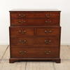 Mahogany 2 Part Secretaire/Chest With Writing Top