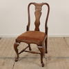 Queen Ann Oak Style Occasional Dining Chair  (Y)