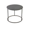 Circ Black All Iron Kwadrat Medium Side Table (40 Cm H X 46 Cm)