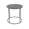 Circ Black All Iron Kwadrat Tall Side Table (50 Cm H X 50 Cm)
