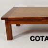 140 X 80 Low Rect Cherry Coffee Table