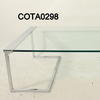 Prima Casa Aqua C/P & Glass 115cm X 60cm  Debs Coffee Table