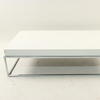 Prima Casa Lusso C/P & White Lacquer 4' Coffee Table