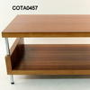 Schneider Cherry 'cube' Rectangular Two Tier Coffee Table