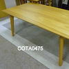 106cm X 55cm Oak Tot Rectangular Coffee Table