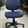 Silver Fox Calex Excel Blue Typist Chair
