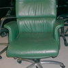 Herman Miller Green Hide Executive Chair